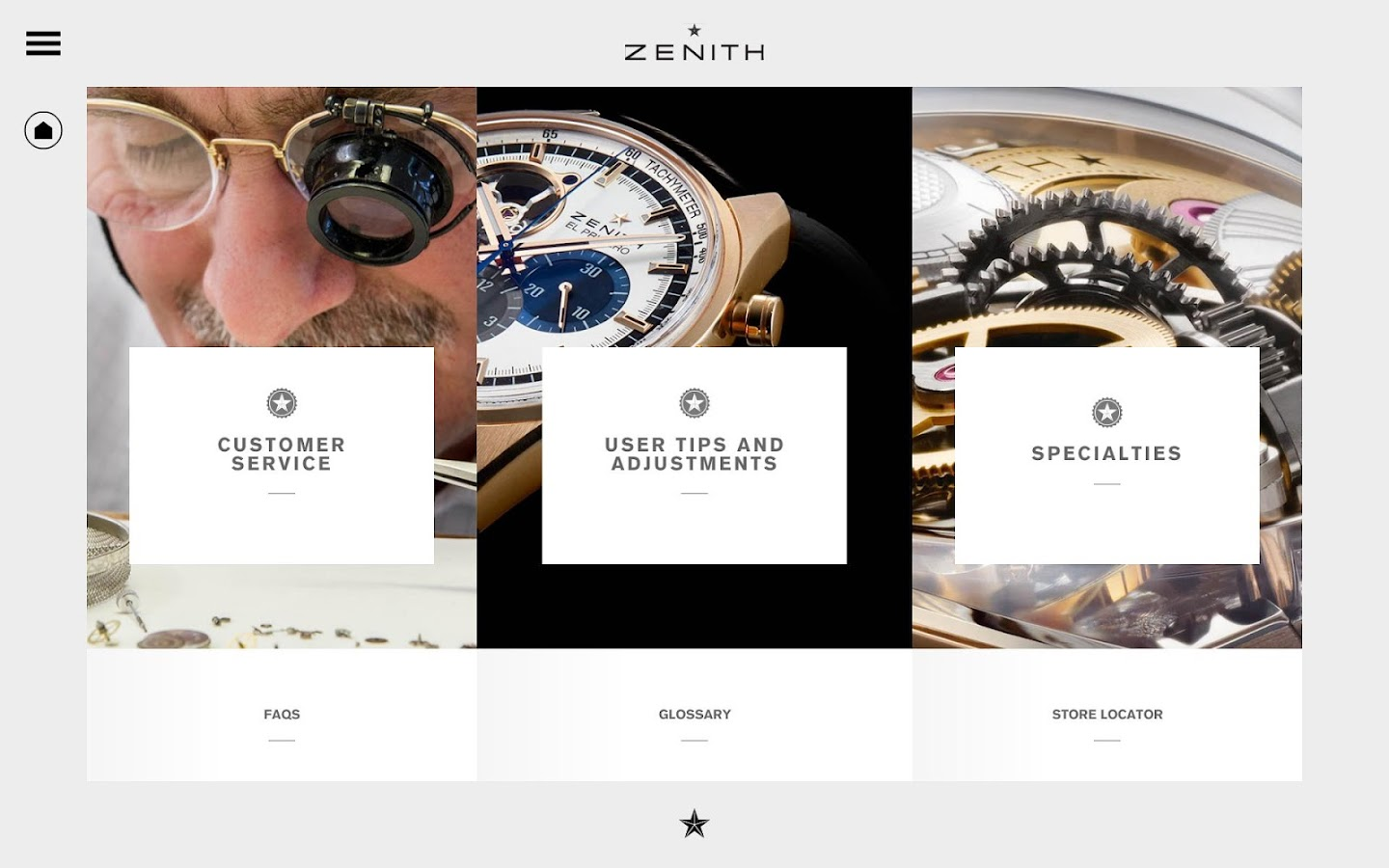 Zenith Watches, The Experience- screenshot