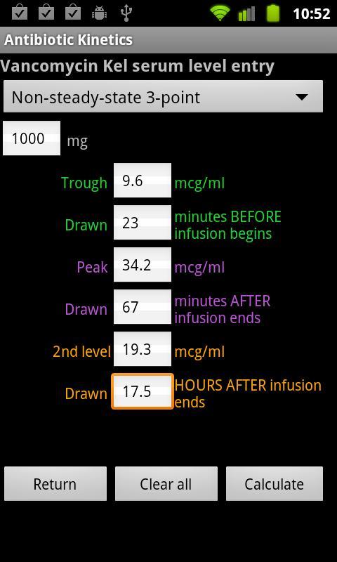 Antibiotic Kinetics Paid- screenshot