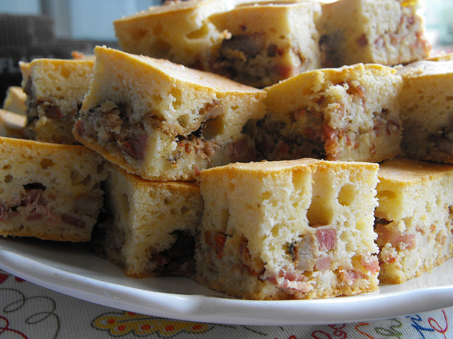 Ham, Sausage, and Salami Bread Recipe