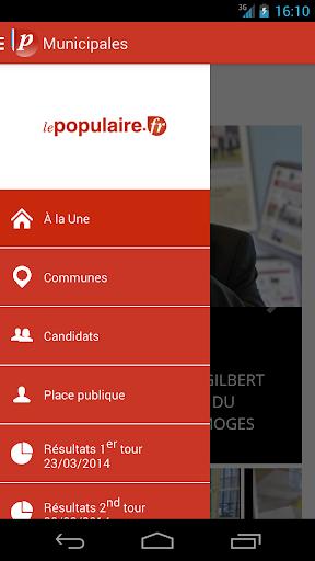 Municipales lepopulaire.fr