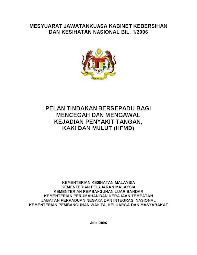 KKPM BKP HFMD Interagency Plan
