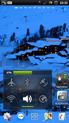 【免費個人化App】降雪的冬季度假胜地 LWP-APP點子