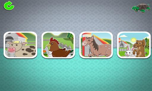 Memory Game Toddlers: Animals
