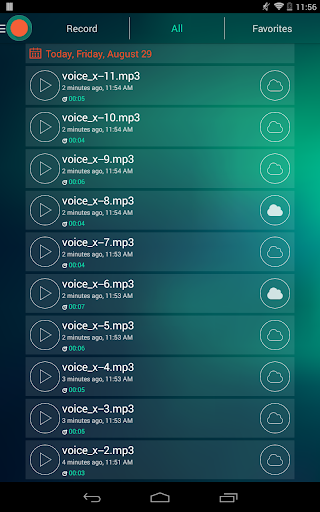 Voice Recorder - Dictaphone 2.6 screenshots 17