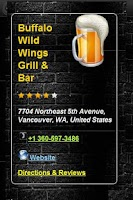 Screenshot of Beer Radar
