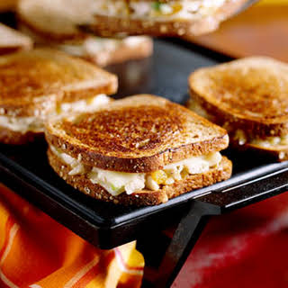 Grilled Chicken 'N' Cheese Sandwiches.