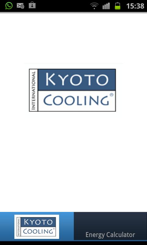 Kyoto Cooling Energy Calculato - screenshot