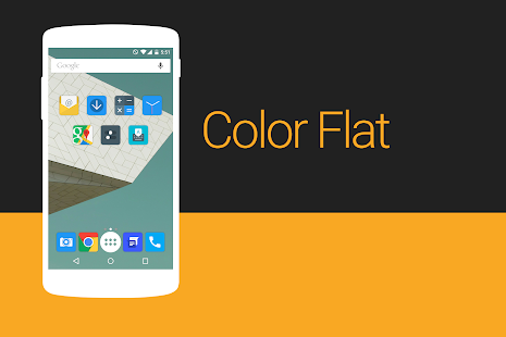 Color Flat - Icon Pack - screenshot