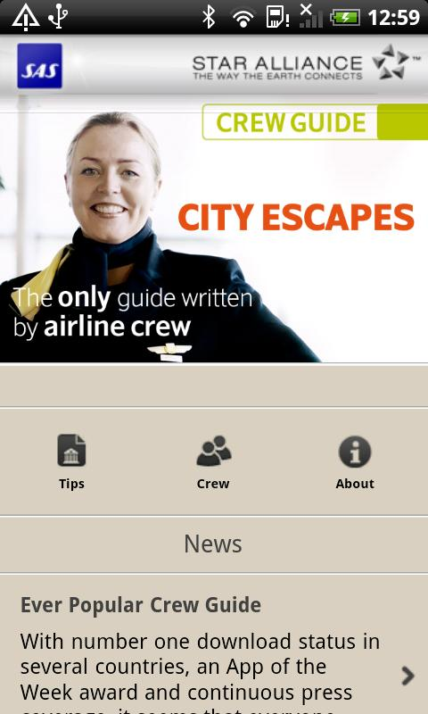 SAS Crew Guide City Escapes - screenshot