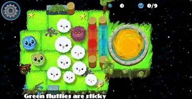Screenshot of Push the Fluffies