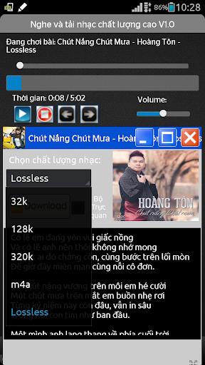 Nghe nhạc chất lượng cao HD