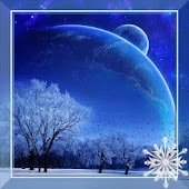 Winter Moon Live Wallpaper