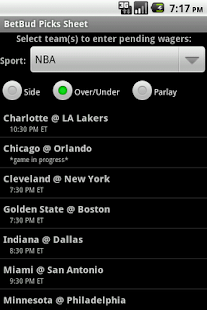 BetBud - sports bet tracker - screenshot thumbnail