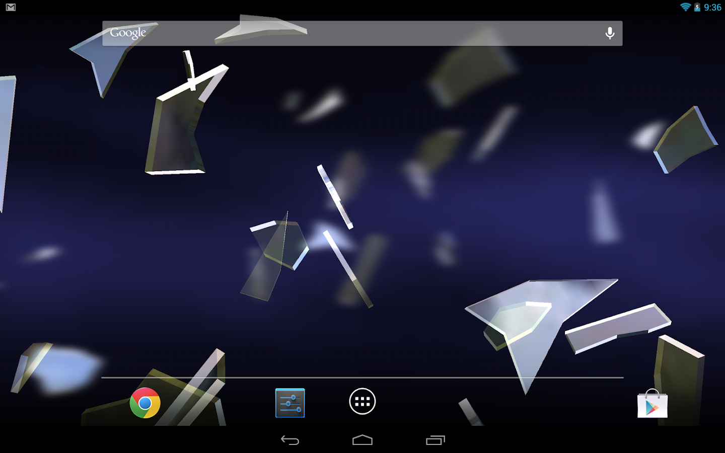Shattered Glass 3D LWP- screenshot