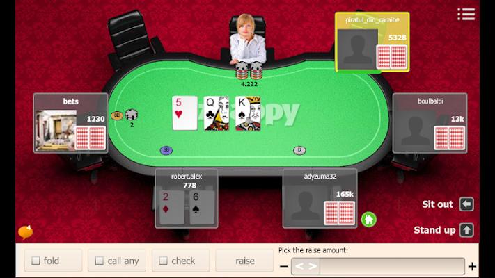 Holdem Znappy - screenshot