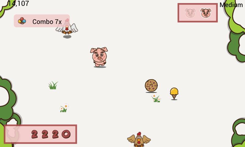 Tilt the Pig- screenshot