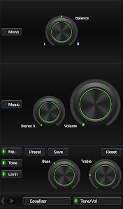 Mad Jelly Green Poweramp Skin v1.3.1