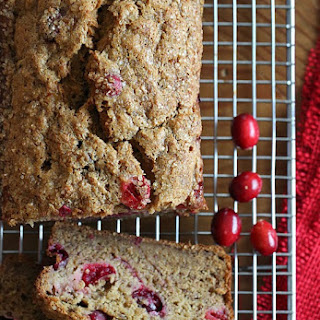 Banana Cranberry Bread.