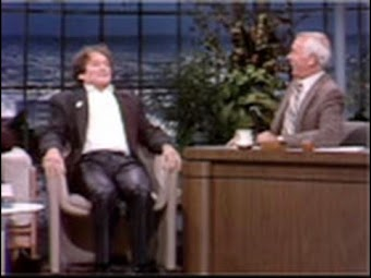 Robin Williams, Patton sketch, 10/14/1981