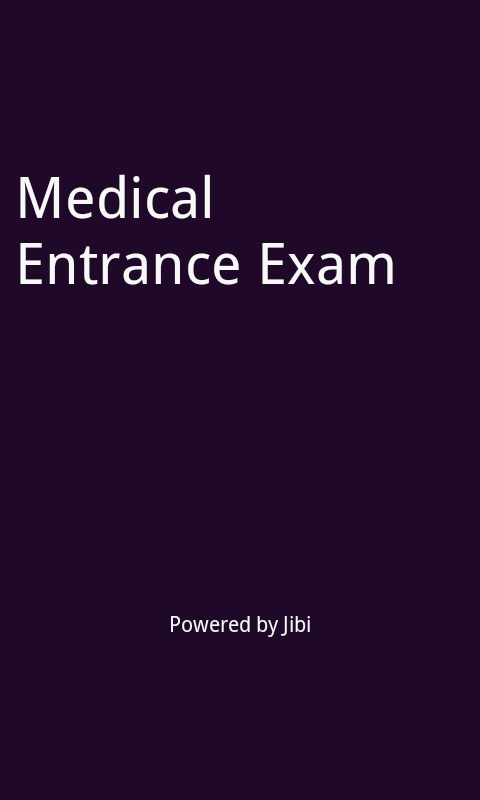 NEET medical entrance exam - screenshot