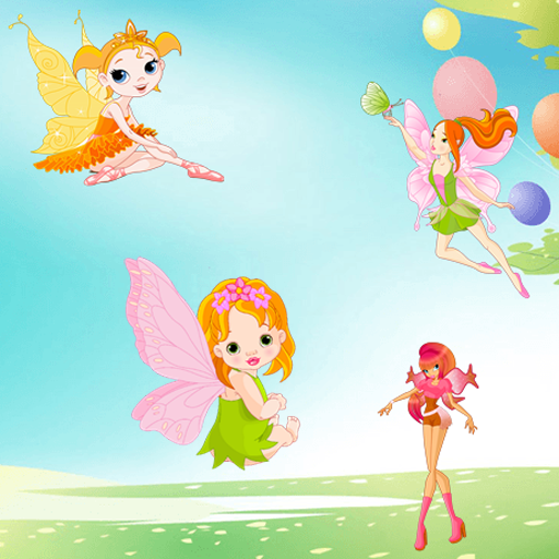 个人化の妖精幼児パズル LOGO-記事Game