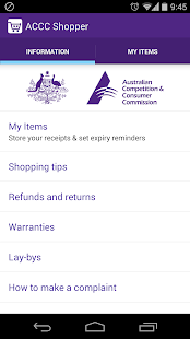 ACCC Shopper- screenshot thumbnail