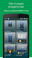 Screenshot of HD Widgets