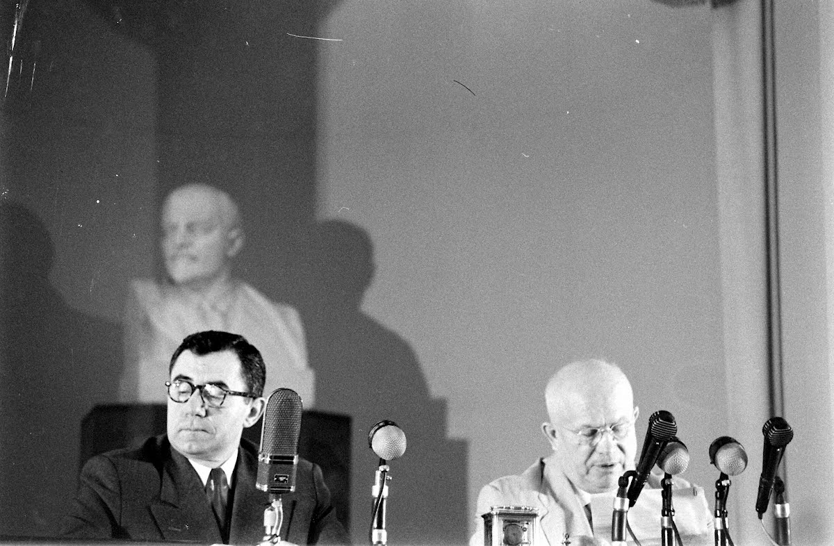Khrushchev At Press Conference
