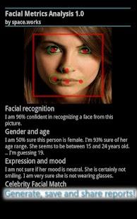 Facial Metrics Analysis- screenshot thumbnail