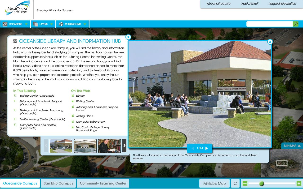 MiraCosta College - screenshot