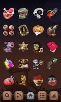 Screenshot of Zombie GO Launcher Theme