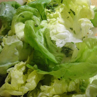 Butter Lettuce Salad with Tarragon and Citrus-Honey Vinaigrette
