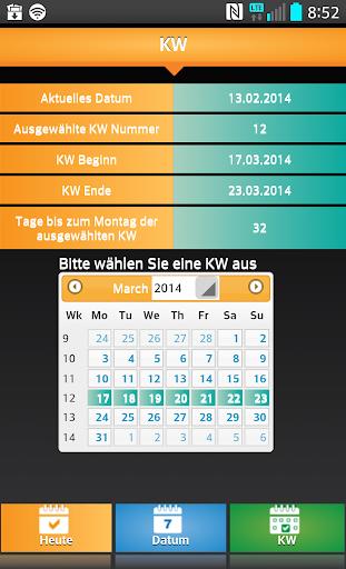 【免費工具App】Kalenderwochen Rechner-APP點子