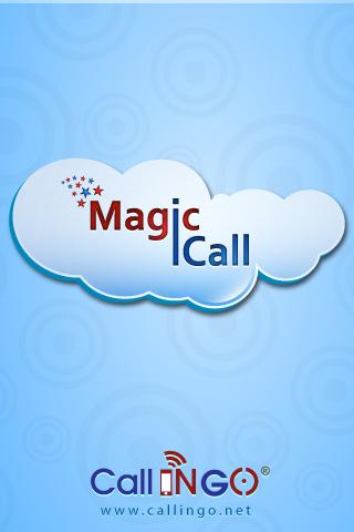 MAGIC CALL - screenshot