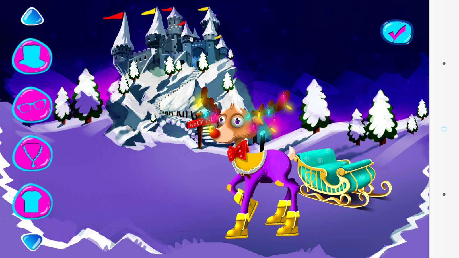 Christmas Games Dress Up- screenshot