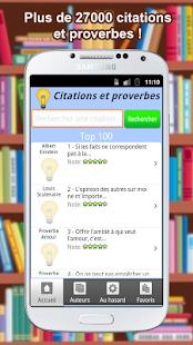 Citations et Proverbes 27000