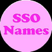 SSO - Names