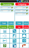 Screenshot of Balance Birdy bookkeeping