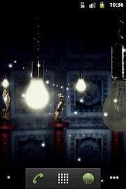 Fireflies Live Wallpaper Free Screenshot 3