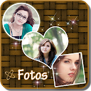 Fotos - Photo Overlapping mobile app icon