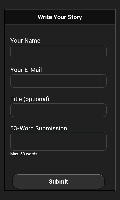 53Words- screenshot