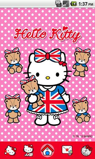 Hello Kitty CuteBabyBear Theme
