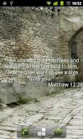 Screenshot of Bible Passages Live Wallpaper