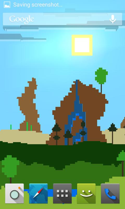 Pixel Landscape LWP Lite - screenshot