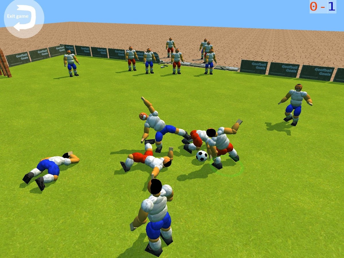 Goofball Goals Soccer Game 3D- screenshot