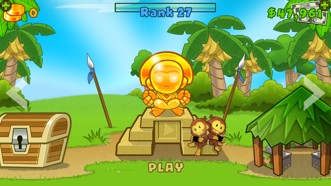 #1. Bloons TD 5 (Android)