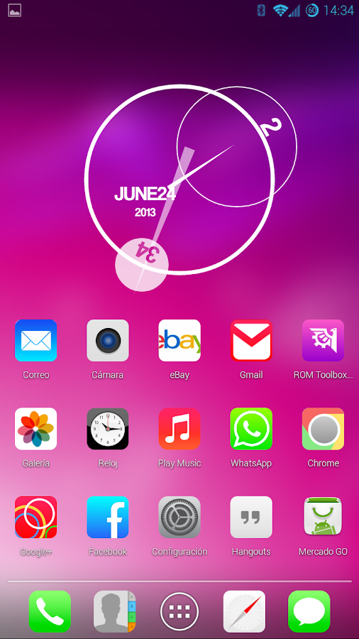 iOS 7 Theme HD Concetto 8 in 1 - screenshot