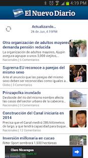 El Nuevo Diario - screenshot thumbnail