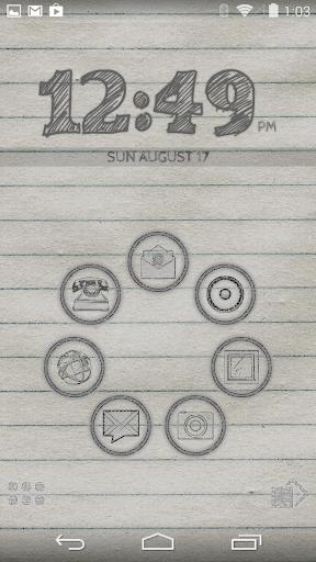Smart Launcher Theme Doodle