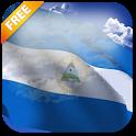 3D Nicaragua Flag LWP icon